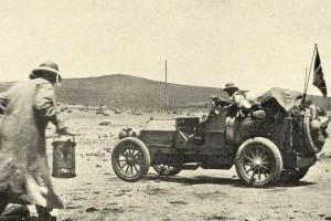Монголын анхны автомашин